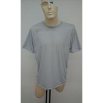 Camisetas 100% Poliéster Cinza Sublimação Atacado