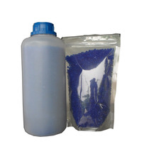 Sílica Gel Azul 1,5 Kg + 30 Saches Zip + Manual