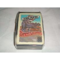 Cards Trunfo Serie Dinossauros Usado Em Bom Estado