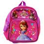 Pequena Mochila Disney Sofia A Primeira Princesa Flowers 12