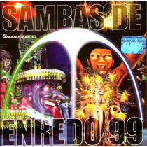 Cd / Sambas Enredo Carnaval 1999 Rio De Janeiro
