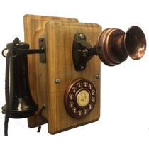Telefone Antigo Nelphone De Parede Retrô Vintage