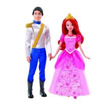 Boneca Princesa Disney - Ariel & Eric - Mattel