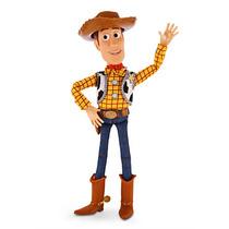 Toy Story Novidade Disney Store Xerife Woody 40cm 19 Frases
