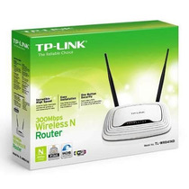 Roteador Wireless Tp-link Tl-wr841 300mbps - 2 Antenas