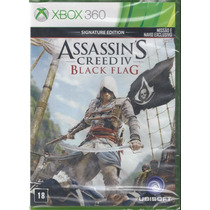 Assassins Creed Iv Black Flag Signature 4 Português Xbox 360