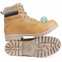 Sapato Tênis Masculino Coturno Cano Médio Bota Yellow Timber