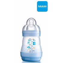 Mamadeira First Bottle 160ml Azul Tam.1 | Mam