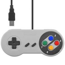 Controle Snes Super Nintendo Usb