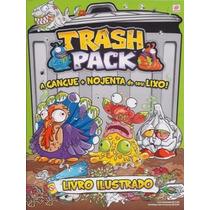 Álbum Trash Pack Completo C/ 144 Figurinhas Soltas P/ Colar