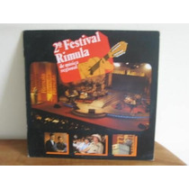 Lp Col 2º Festival Rimula De Musica Regional 1991