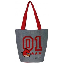 Shop Bag Sacola Tote Angry Birds Canvas/cotton Bolsa