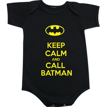 Body Keep Calm And Call Batman - Super Herois
