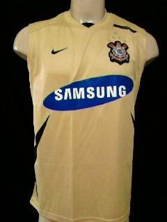 Rara Camisa Regata Corinthians Nova Oficial Nike 2008   2009 - R  79 ... 841e4b9b7c2e8