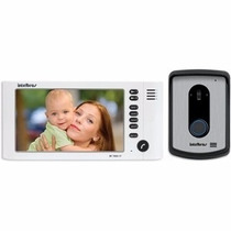 Vídeo Porteiro Monitor 7 Color Siga-me Intelbras Iv 7010 Hf