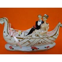 Noivinhos !!!!! O Barco Do Amor Noivos Topo De Bolo