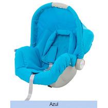 Tecido Estofado Capa Bebê Conforto Piccolina Azul Galzerano