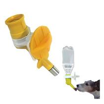 Bebedouro Automático Cães E Gatos Bico Adaptador Garrafa Pet