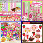 7 Kits Scrapbook Digital Moranguinho E Moranguinho Baby