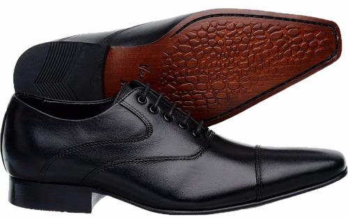 d719ec11c Sapato Social Masculino Couro Amarrar Sofisticado Elegante   Mostra ...