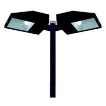 Poste De Iluminação Para Jardim P/ 2 Lampadas Com 3 Metros