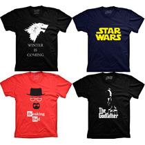 Camisetas Seriados E Filmes Bazinga Poderoso Chefão Game Of