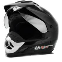 Capacete Moto Cross Pro Tork Th1 Vision Trilha + Brinde