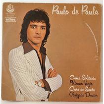 Compacto Vinil Paulo De Paula - Cama Solitária - 1979 - Rge