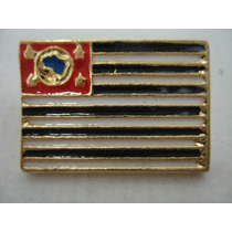 Pin- Boton - Broche Bandeira Do Estado De Sp