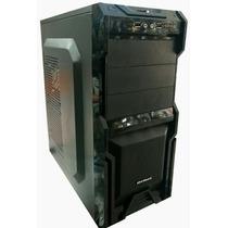 Gabinete 3 Baias Mymax Usb Audio Frontal