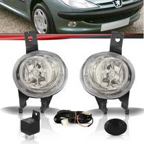 Kit Farol Milha Peugeot 206 E 206 Sw 98 99 00 01 02 03