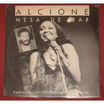 Lp Alcione - Single Promo - Mesa De Bar Com Gonzaguinha