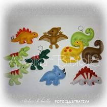 Dinossauros Da Bibiella - Kit C/ 35 Lembrancinhas Em Feltro