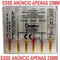 Lima Rotatória Protaper Maillefer - Densply 25mm Cx C 12kit
