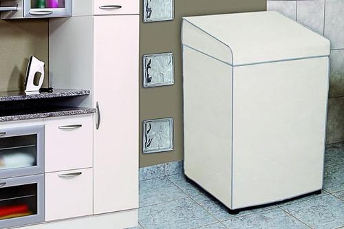 Capa Para Máquina De Lavar Adomes M2085 101x65 Marfim