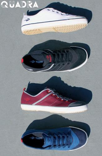 ... Tênis Topper New Casual Iii - Preto Ou Branco. Preço  R  89 9 Veja  MercadoLibre 151e018e2f734