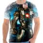 Camisa Camiseta Homem De Ferro Iron Man Heroi Filme Tony 18