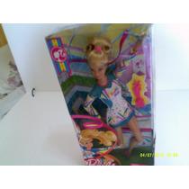 Barbie Boneca Quero Ser Campeã De Ginástica Mattel + Brinde