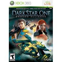 Jogo Novo Lacrado Darkstar One Broken Alliance Para Xbox 360
