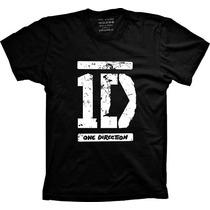 Camiseta Banda One Direction 1d Feminina Masculina Infantil