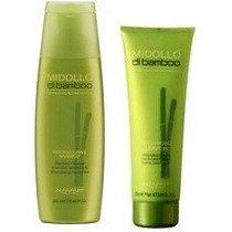 Alfaparf Midollo Di Bamboo Kit Shampoo + Leavin (creme)