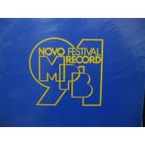Lp Col Festival Record 1991 Disco Novo