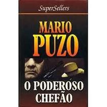 Livro O Pederoso Chefão Mario Puzo Editora Supersellers Capa