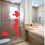 Adesivo Decorativo Parede Box Banheiro Peixe Bolha Mar