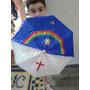Sombrinha De Frevo Revestida De Paetê Bandeira De Pernambuco
