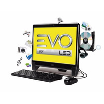 Desktop All In One 20 Wide Evo Led 20525u-w8sl - Novo