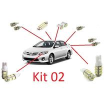 Kit 12 Lâmpadas Led Para Corolla 2009 - 2013 - Frete R$0,01