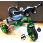 Triciclo Infantil De Aço Com Freio Buzina Campaínha