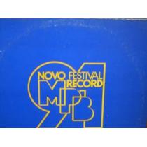 Lp Col Festival Record Mpb 91 Vicente Barreto Frank Gal Silv