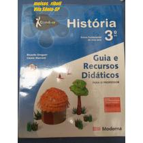 Livro Professor História Ens. Fundamental 3º Ano Conviver O